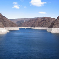 Beeld over Lake Mead