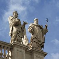 Beelden io de San Giovanni in Laterano-basiliek