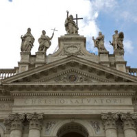 Fronton van de San Giovanni in Laterano-basiliek
