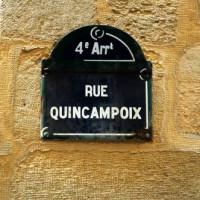 Naambordje in Le Marais