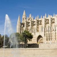 Fontein aan de Kathedraal La Seu