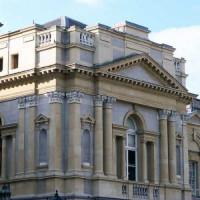 Zijaanzicht op Leinster House