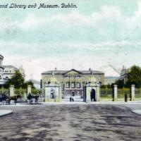 Oude prent van Leinster House