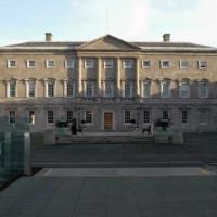 Voorgevel van Leinster House