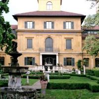Tuin van het Lenbachhaus
