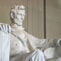 Beeld van Abraham Lincoln