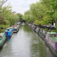 Bankje in Little Venice