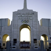 Poort van het Los Angeles Memorial Coliseum