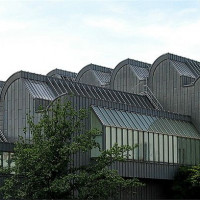 Daken van het Ludwig Museum