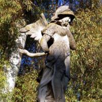 Standbeeld in het Parque María Luisa