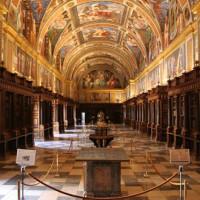 Binnen in het Monasterio de El Escorial