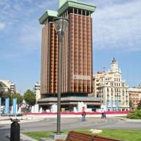 Toren aan het Plaza de Colón