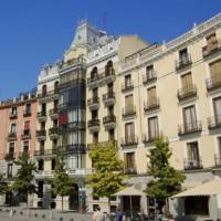 Gebouw langs de Plaza de Oriente