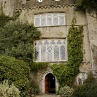 Deur van Malahide Castle