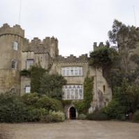 Vooraanzicht van Malahide Castle