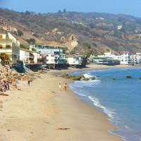 Stranden van Malibu