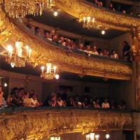 Zaal in het Mariinski-theater