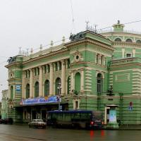 Voorgevel van het Mariinski-theater