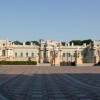 Plein voor het Mariinskypaleis