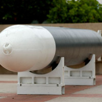 Torpedo van het Maritiem Museum