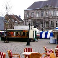 Kramen op de Markt van Maastricht