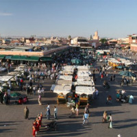 Markt op de Jemaa-el-Fna