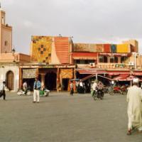 Winkels aan de Jemaa-el-Fna