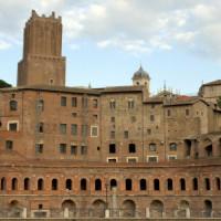 Overzicht van de Markt van Trajanus