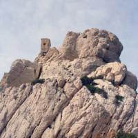 Rotsen van het Massif des Calanques