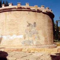 Detail van het Mausoleo Romano