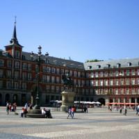 Zicht over de Plaza Mayor