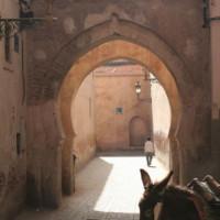 Steegje in de Medina