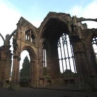 Ruïnes van Melrose Abbey