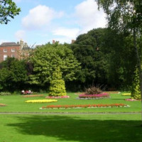 Tuin in Merrion Square