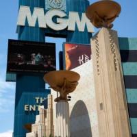 Beeld van bij het MGM Grand