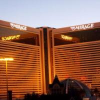 Schemering bij het Mirage