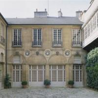 Binnenplaats van Musée Magnin