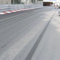 Deel van het Formule 1-circuit