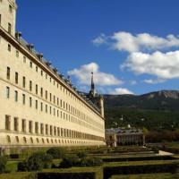 Zijkant van het Monasterio de El Escorial