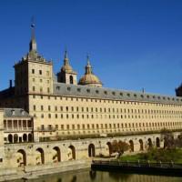 Zicht op het Monasterio de El Escorial
