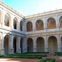 Plein van het Monasterio de San Miguel de los Reyes
