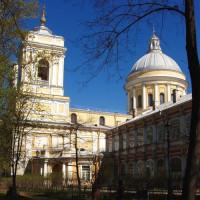 Stuk van het Alexander Nevski-klooster