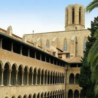 Toren op het Monestir de Pedralbes