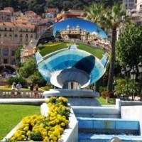Kunstwerk in Monte Carlo