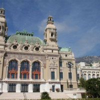 Trappen voor de Opera van Monte Carlo