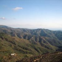 Beeld op de Montes de Málaga