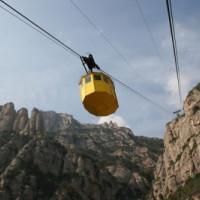 Kabelbaan bij Montserrat