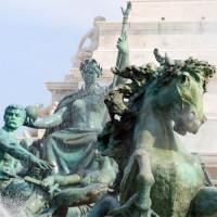 Detail van het Monument aux Girondins