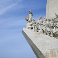 Detail van het Monument der Ontdekkingen