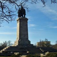 Zuil van het Monument voor het Sovjet leger